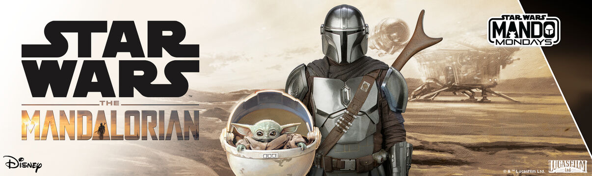 Star Wars Mando Mondays Featuring:  The Mandalorian - Shop Now!