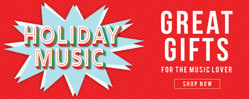 Holiday Music - Great Gifts for the Music Lover. Shop Now!