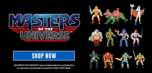 Masters Of The Universe - Shop Now!