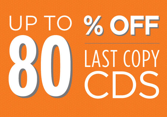 Last Copy Used CDs up to 80% off