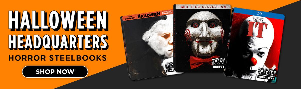 Halloween Headquarters FYE Exclusive Horror Steelbooks - Shop Now!