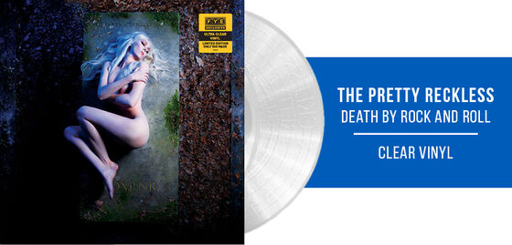 New Exclusive Vinyl: The Pretty Reckless/Death By Rock And Roll [Exclusive Clear Vinyl] - Shop Now!