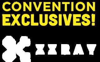 Summer Convention Exclusives Jason Freeny XXRAY Figurines Reptar Superman Spongebob Squarepants