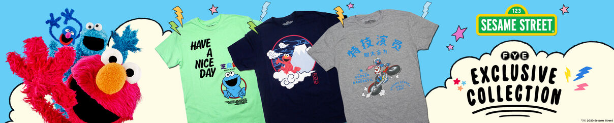 Sesame Street Collection - Shop Now!