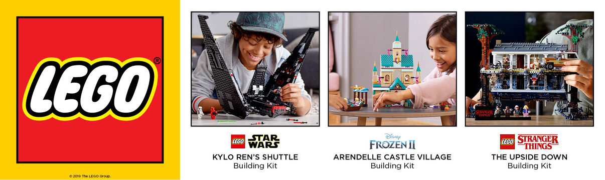 Primary Slider - New Lego Building Kits Available