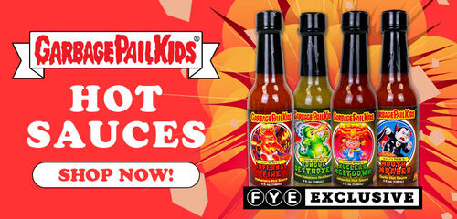 Exclusive Garbage Pail Kids Hotsauce - Now Available!