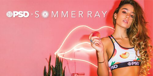 PSD x Sommer Ray Collaboration