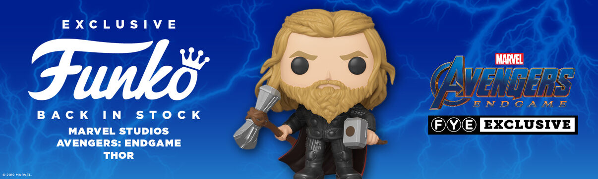 FYE Exclusive Marvel - Endgame Thor Funko Pop: Back in Stock!