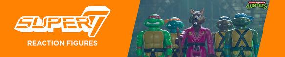 Super 7 Reaction Figures Featuring: Teenage Mutant Ninja Turtles- Shop Now!