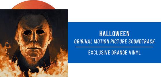 New Exclusive Vinyl: John Carpenter - Halloween Original Motion Picture Soundtrack Expanded Edition [Exclusive Orange Vinyl] - Now Available