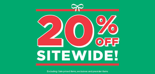 Primary Slider Offer: 20% off sitewide