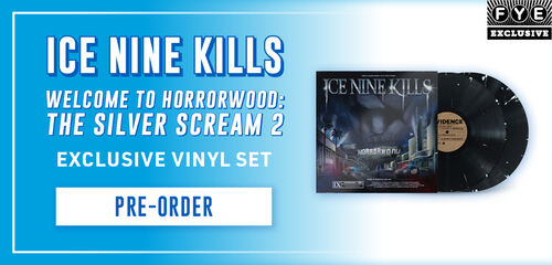 New FYE Exclusive Vinyl: Ice Nine Kills / Welcome To Horrorwood:  The Silver Scream 2 [Exclusive Vinyl Set]- Pre-Order Now!