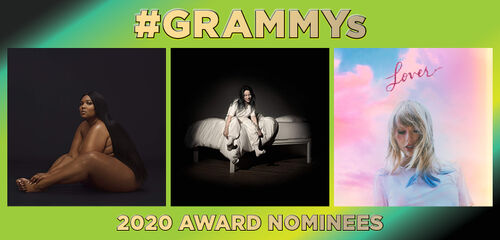#Grammy's - 2020 Award Nominees
