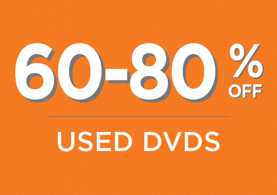 Used DVDs 60% - 80% off