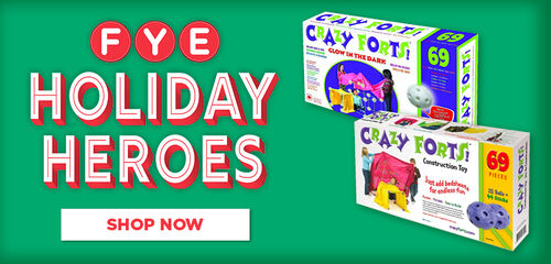 FYE Holiday Heroes Featuring Crazy Forts - Shop Now!