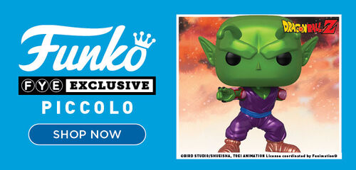 FYE Exclusive Dragonball Z Piccolo Funko Pop!