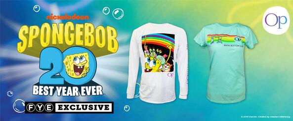 SpongeBob x OP Exclusive Collection