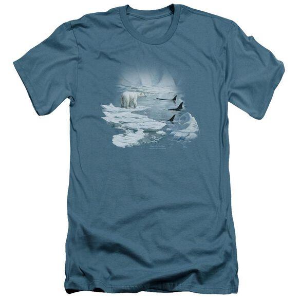 Wildlife Glacier's Egdge Short Sleeve Adult T-Shirt