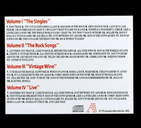 April Wine Collection (Can)