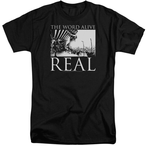 The Word Alive Live Shot Short Sleeve Adult Tall T-Shirt