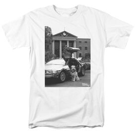 Back To The Future Ii Einstein Short Sleeve Adult T-Shirt