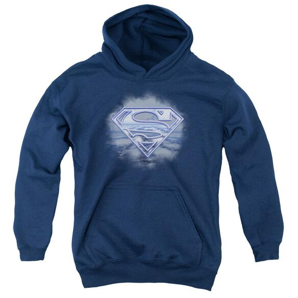Superman Freedom Of Flight Youth Pull Over Hoodie