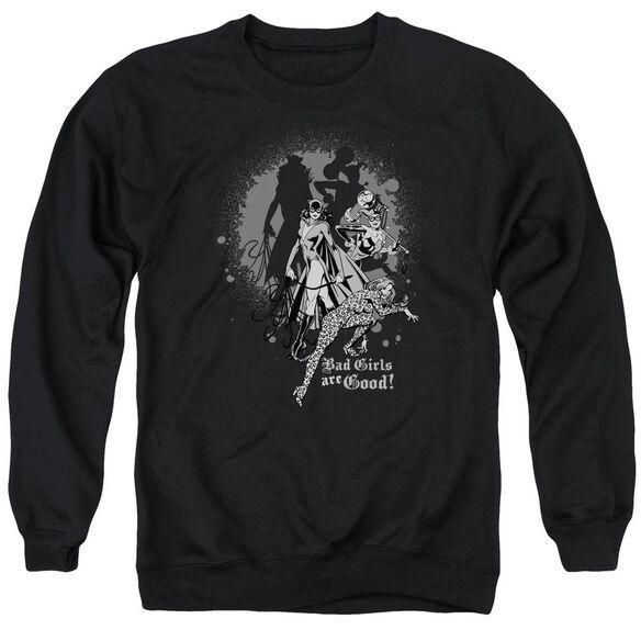 Dc Bad Girls Are Good Adult Crewneck Sweatshirt