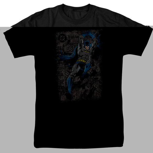 BATMAN DETECTIVE #487 DISTRESS - S/S ADULT 18/1 T-Shirt