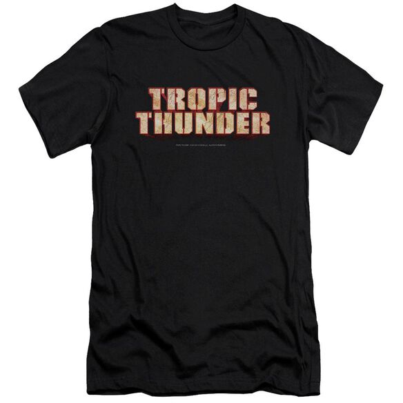 Tropic Thunder Title Premuim Canvas Adult Slim Fit