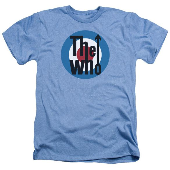 The Who Logo Adult Heather Light