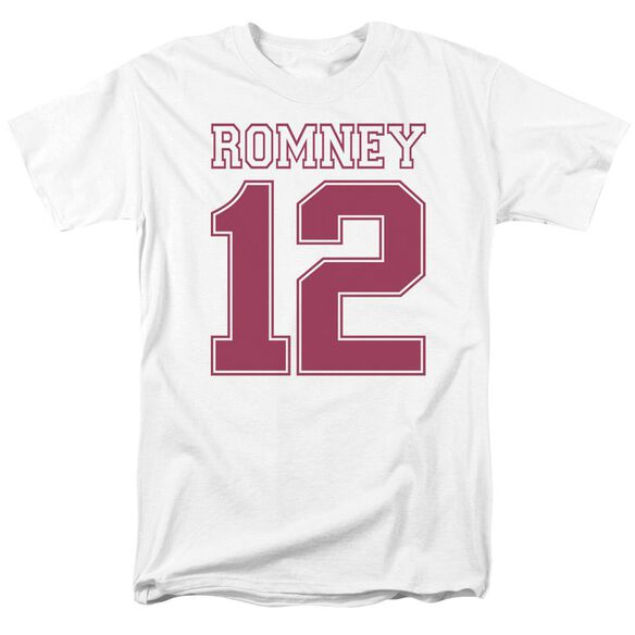 Romney 12 Short Sleeve Adult T-Shirt