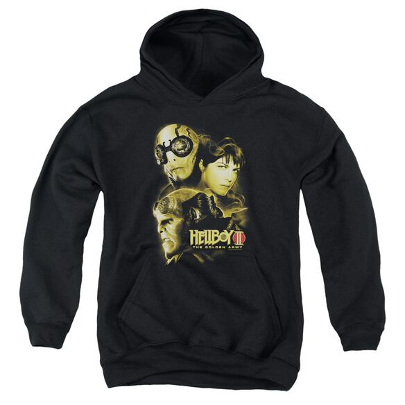 Hellboy Ii Ungodly Creatures Youth Pull Over Hoodie
