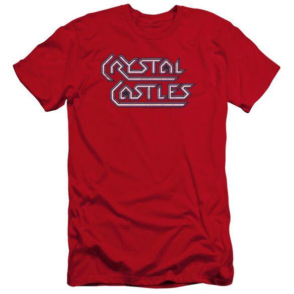 Atari Crystal Castles Logo Premuim Canvas Adult Slim Fit