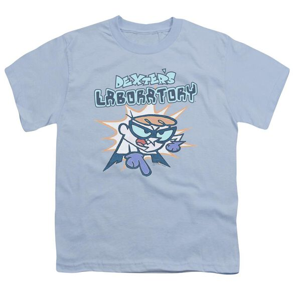 Dexter's Laboratory What Do You Want Short Sleeve Youth Light T-Shirt