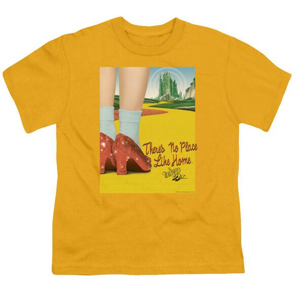 Wizard Of Oz The Way Home Short Sleeve Youth T-Shirt