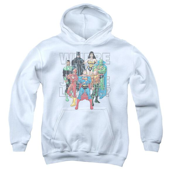 Jla Classified #1 Cover Youth Pull Over Hoodie