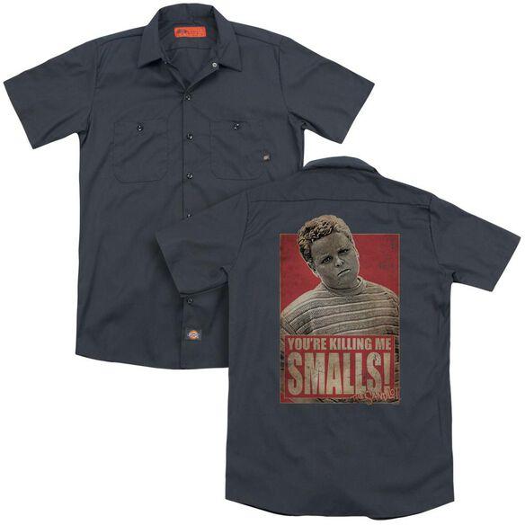 Sandlot Smalls (Back Print) Adult Work Shirt