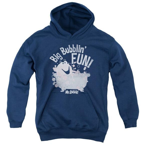 Mr Bubble Big Bubblin Fun Youth Pull Over Hoodie