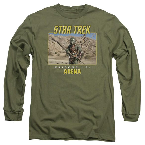St Original Arena Long Sleeve Adult Military T-Shirt