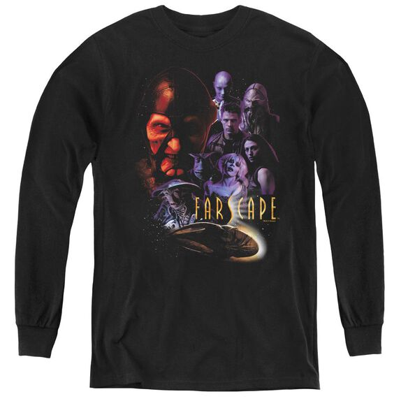 Farscape Criminally Epic - Youth Long Sleeve Tee - Black