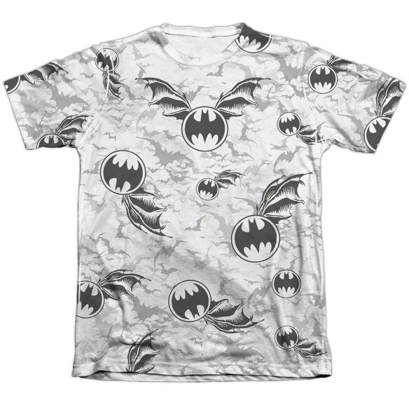 Batman Bat Flight Adult 65 35 Poly Cotton Short Sleeve Tee T-Shirt
