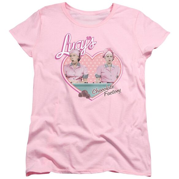 I Love Lucy Chocolate Factory Short Sleeve Womens Tee T-Shirt