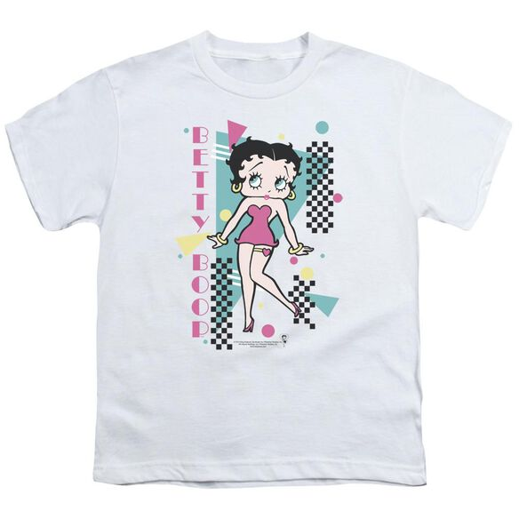 Betty Boop Booping 80 S Style Short Sleeve Youth T-Shirt
