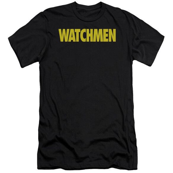 Watchmen Logo Premuim Canvas Adult Slim Fit