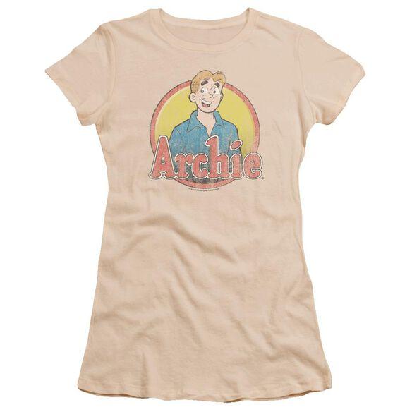 Archie Comics Achie Distressed Premium Bella Junior Sheer Jersey