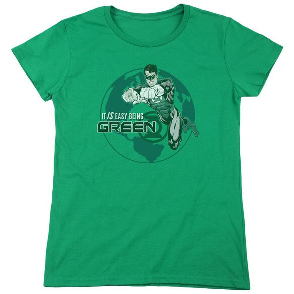 Gl Easy Being Short Sleeve Womens Tee Kelly T-Shirt