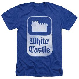 White Castle Classic Logo Adult Heather Royal