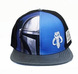 Star Wars Mandalorian Split Snapback Hat