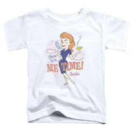 4343b66c9 Bewitched Me Time Short Sleeve Toddler Tee White T-Shirt