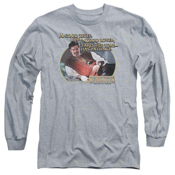 Xena A Good Thief Long Sleeve Adult Athletic T-Shirt